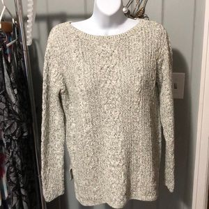 J.Jill gray sweater size small